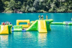jeux aquatiques gonflables wibit aqua games water game flottant