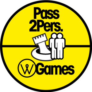 Pass 2 personnes - water games