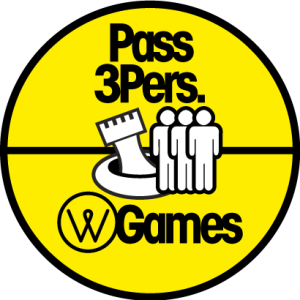 Pass 3 personnes - water games