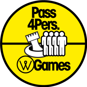 Pass 4 personnes - water games