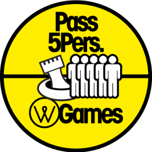 Pass 5 personnes - water games