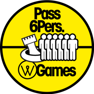 Pass 6 personnes - water games